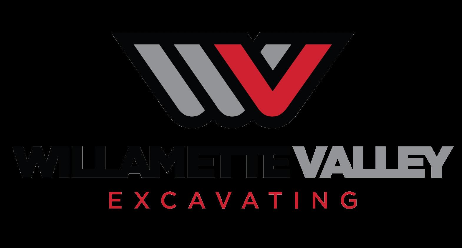 Willamette Valley Excavating  Logo