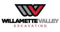 Willamette Valley Excavating Logo